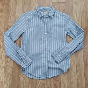 Hollister Striped Button Down Longsleeve Shirt
